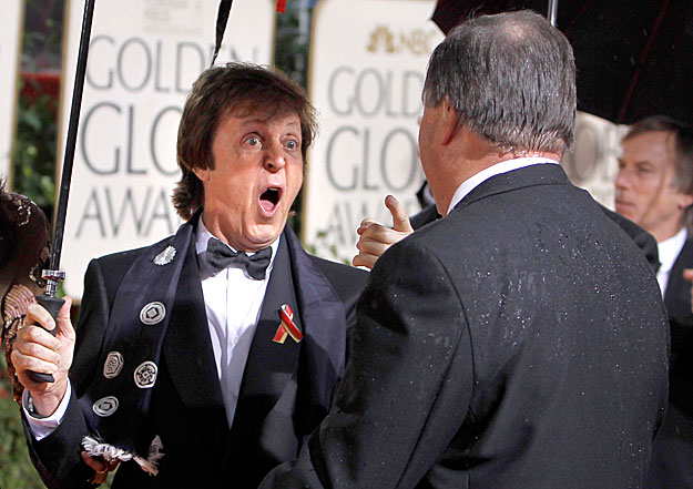 Paul McCartney is részt vett a ceremónián