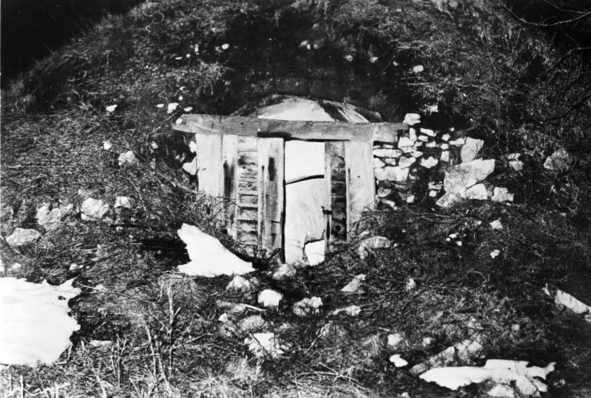 A pince, ahol meghalt
