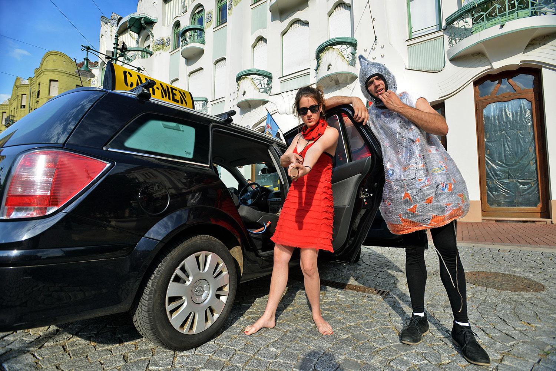 A Car-Menben a beszállás önmagában is látványos jelenet
