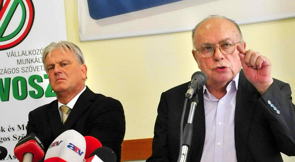 Dávid Ferenc és Demján Sándor. Sokadjára különböznek össze a kormánnyal, de eltökéltek