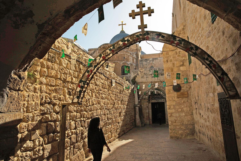 A szenvedés útja: Via Dolorosa Jeruzsálemben