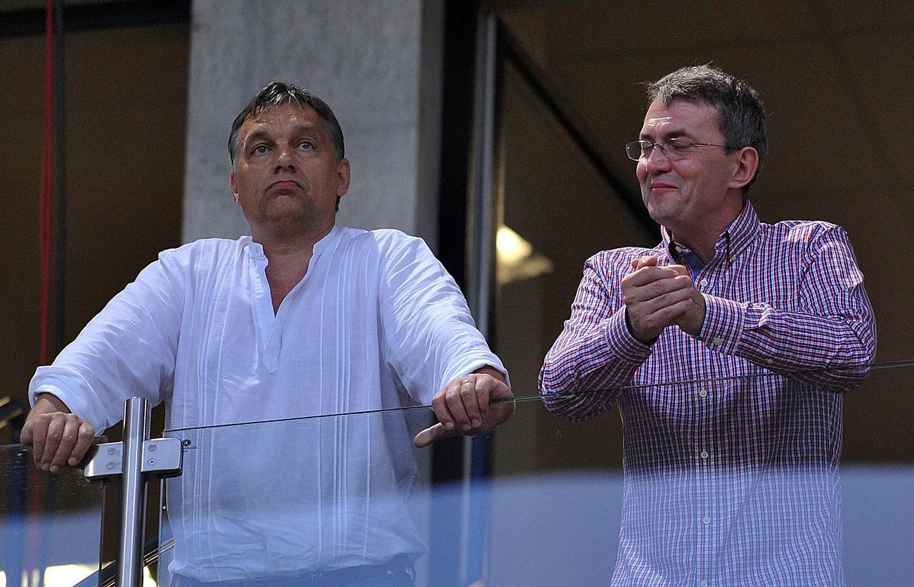Orbán és Garancsi. Nem nyilvános, hogy Orbán kötélbarátja mennyiért vásárolta meg üzlettársai tulajdonrészét