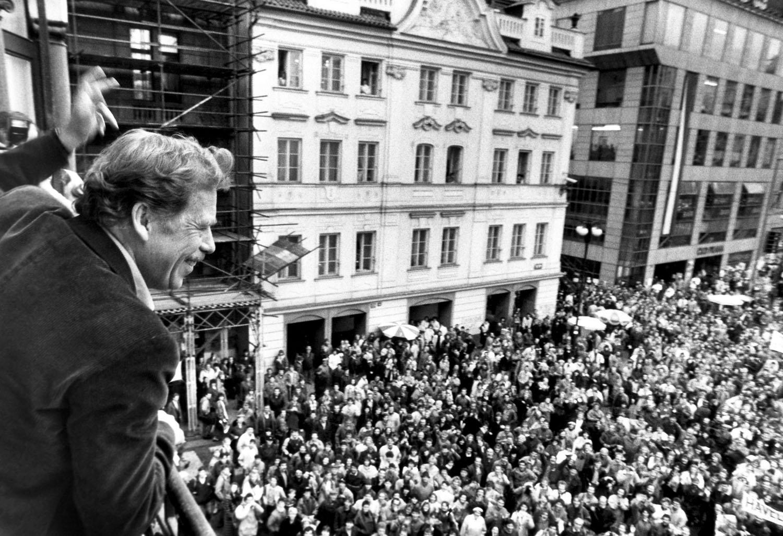 Harmadik hullám: Václav Havel