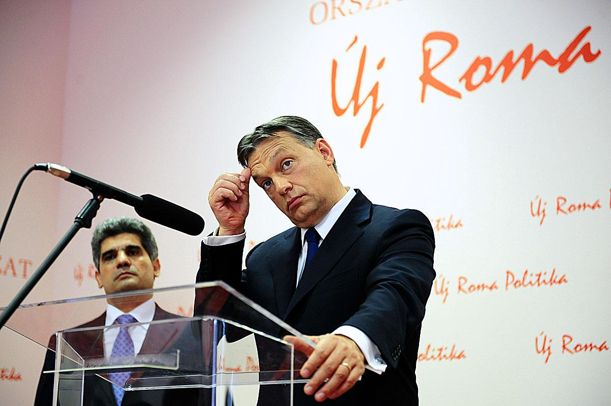 Farkas Flórián és Orbán Viktor - egymásra találtak
