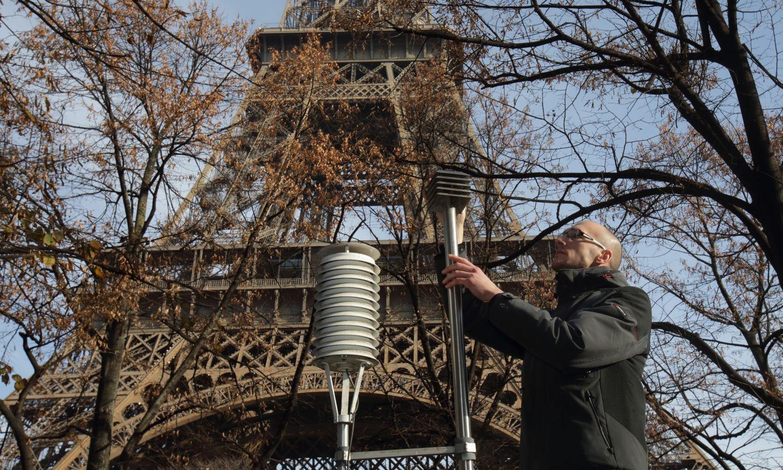 Légyszennyezettség-mérés az Eiffel-toronynál: csúcsokat döntünk
