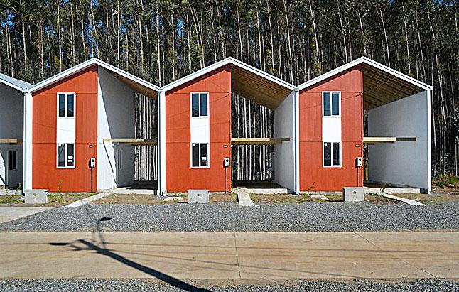 Utahi hajléktalanoknak szánt félkész házak