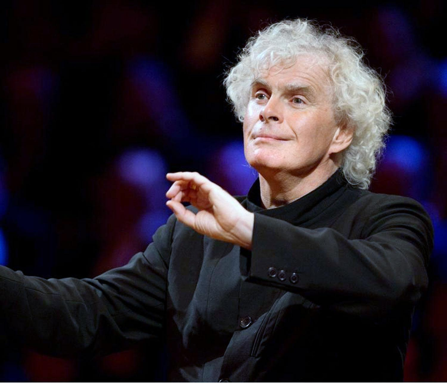 Simon Rattle Fotó: Berliner-Philharmoniker.de