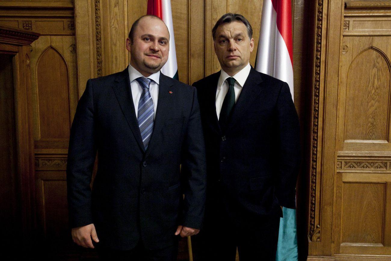 Olosz Gergely és Orbán Viktor