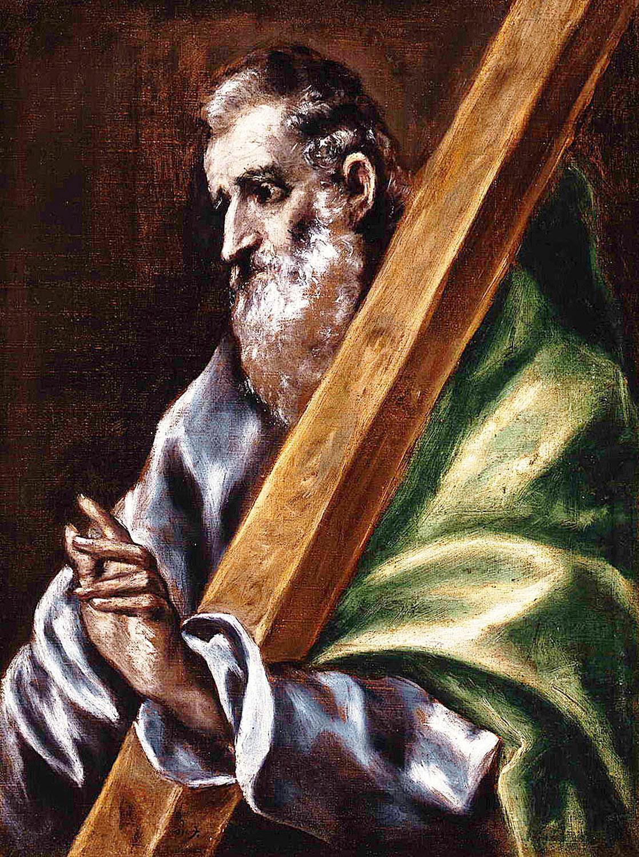 El Greco: Szent András
