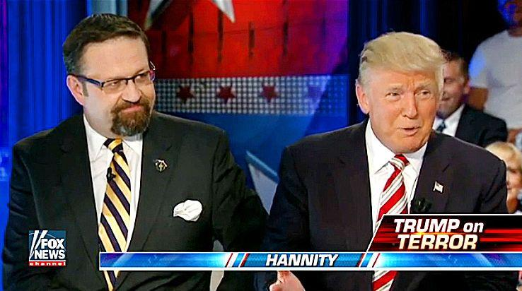 Gorka és Trump a Fox Newson